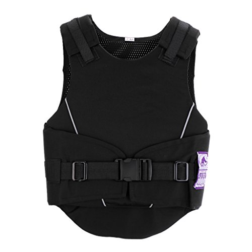 HomeDecTime Equitation Gilets de Protection Sécurités Vestes du Corps Confortable pour...
