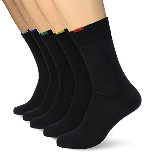 Dim Ecodim, Chaussettes, Lot de 5 paires, Homme, Noir, FR: 43-46 (Taille Fabricant: 43/46)