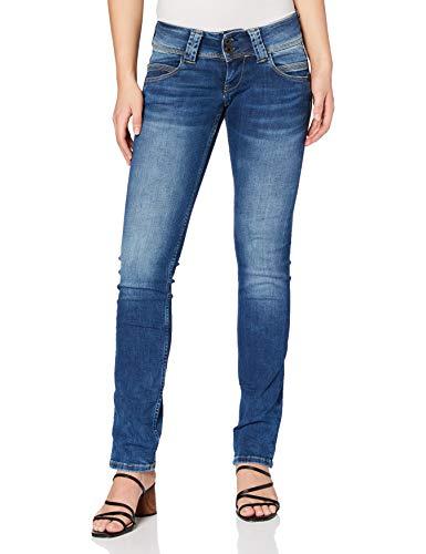 Pepe Jeans Venus Pl200029 Jeans - Femme - Bleu (10oz Authentic Rope Str Med) - 27W/32L