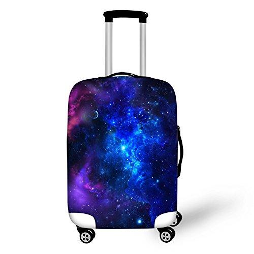 CHAQLIN Universe Housse de protection pour valise en élasthanne élastique 45,7 à 71,1 cm