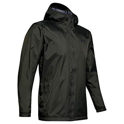 Under Armour Forefront Rain Veste Homme Vert FR : XL (Taille Fabricant : XL)