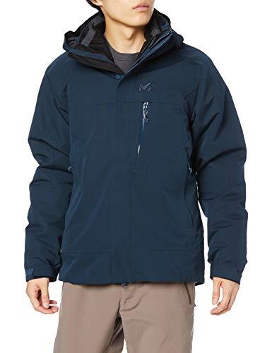 Millet - Pobeda II 3 in 1 JKT M - Veste Imperméable 3 en 1 pour Homme - Randonnée, Trekking, Lifestyle - Bleu