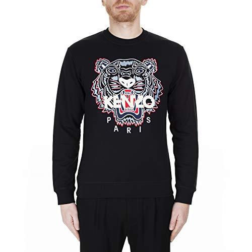 Kenzo Sweat Classic Tiger Pull Tigre Sweatshirt FA55SW0014XA Noir Homme prix et achat