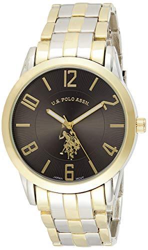 U.S. Polo Assn. USC80061 Montre Bracelet Homme Alliage Bicolore