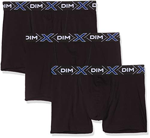 Dim X-TEMP BOXER X3 Boxer de bain Homme Noir (Noir/ Noir/ Noir 0hz) Large (Taille Fabricant:4) 3Lot de3 prix et achat