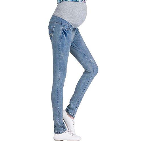 Inlefen Jeans de maternité Vintage: Au Cours de la Bosse, la Grossesse Denims Regarder...