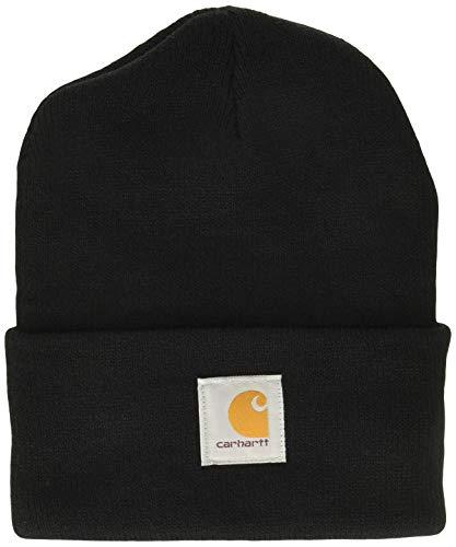 Carhartt Watch Hat A18 Bonnet de Travail, Taille Unique, Noir