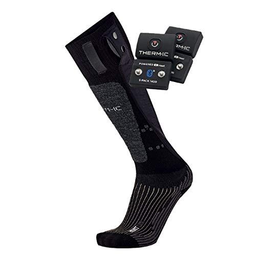 Thermic PowerSocks Set Heat Uni 1400B Pack chaussettes chauffantes + batteries Bluetooth Mixte, Noir, 35-38 prix et achat