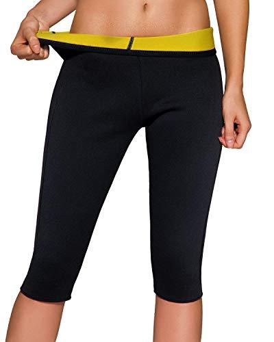 Martiount Femme Minceur Legging de Sudation de Sport Pantalon Fitness Pantacourt Yoga Short...