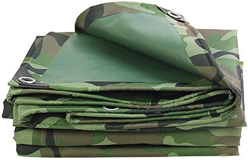 Bâche étanche Camouflage Heavy Tarps Jungle Épaissie Oxford Poncho Sun Protection Cover Dustproof Shed