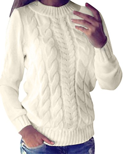Style Dome Pull Femme Hiver Grande Taille Tops Femme Chic Chaud Hiver Pull Cachemire Femme...