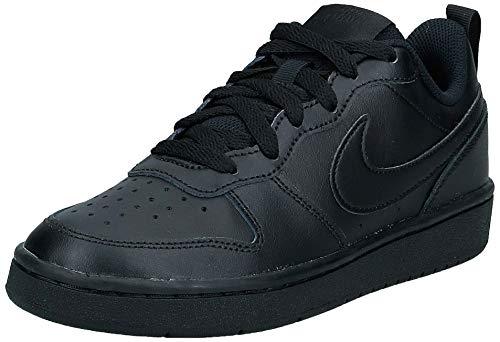 Nike Court Borough Low 2, Chaussures de Basketball, Noir (Black/Black-Black 1), 38 EU
