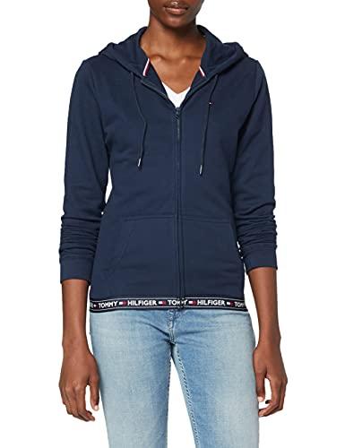 Tommy Hilfiger Hoody HWK Haut De Pyjama, Bleu (Navy Blazer 416), Medium (Taille Fabricant: MD) Femme prix et achat