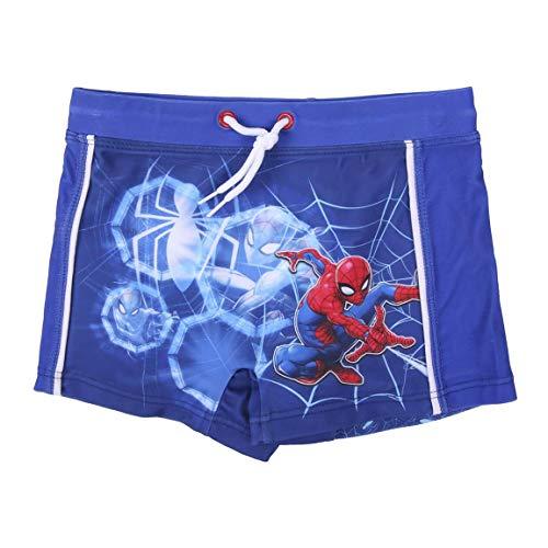 Spiderman Short de Bain pour Garçon, Maillot de Bain, Boxer Slip de Bain, Vacances, Boxers Séchage Rapide Respirant, Taille 5 Ans