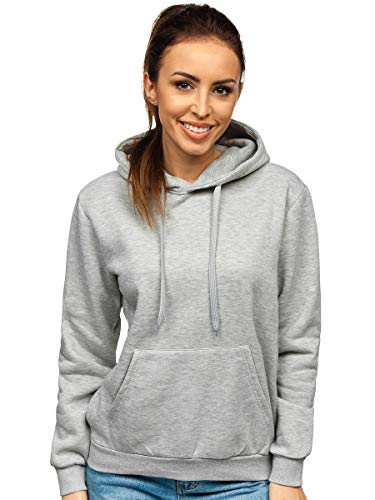 BOLF Femme Sweat-Shirt a Capuche Hoodie Sweat Manches Longues Temps Libre Sport Fitness Outdoor...