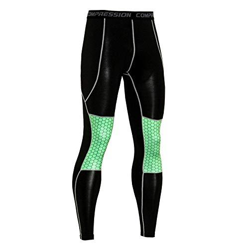 Trihedral-X Pantalons vélo de Pantalons for Hommes évacuant séchage Rapide Pantalons d'équitation d'équitation vêtements de Plein air vêtements (Color : KC88, Size : S)