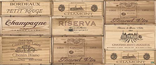 Vilber, Tapis en vinyle, marrón, Riserva, 50x120x0.2 cm