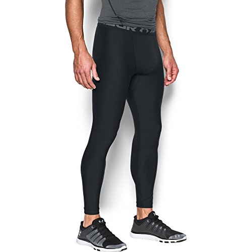 Under Armour HeatGear 2.0, Legging Homme, Noir (Black/Graphite), M