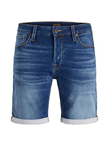 Jack & Jones Jjirick Jjicon Shorts Ge 006 I.k STS, Jean Bleu, XXL Homme