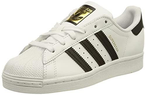 adidas Superstar W, Basket Femme, FTWR White Core Black FTWR White, 39 1/3 EU