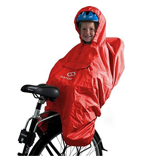 Hamax Protection Pluie Poncho mixte enfant Rouge Taille Unique