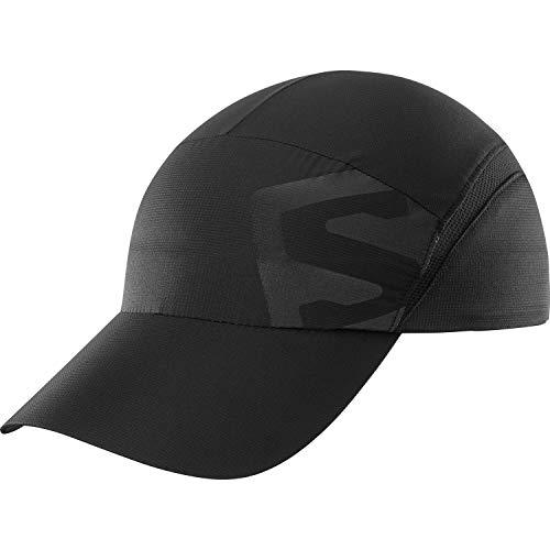 Salomon Casquette Trail Running Randonnée, Homme, Noir (Shiny Black), S-M