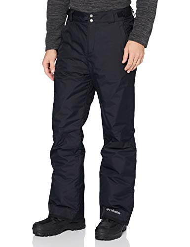 Columbia Homme Pantalon de Ski, BUGABOO OMNI-HEAT, Nylon, Noir (Black), L