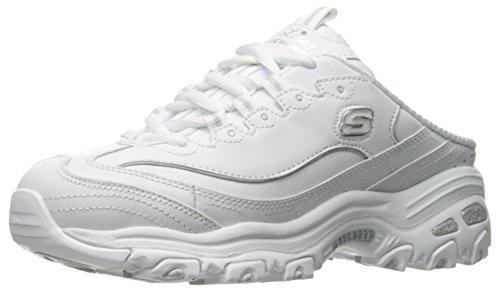 Skechers Baskets pour Femme 11958/Wht D'Lites-Scene Setter White Fashion - - Blanc, 36 EU