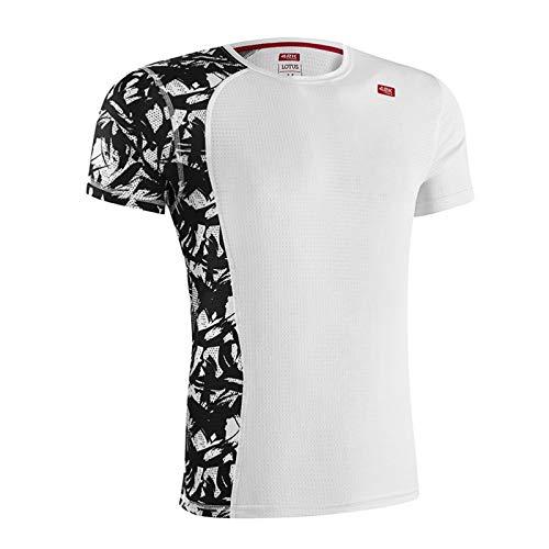 42K Running Lotus T-shirt technique pour homme L blanc