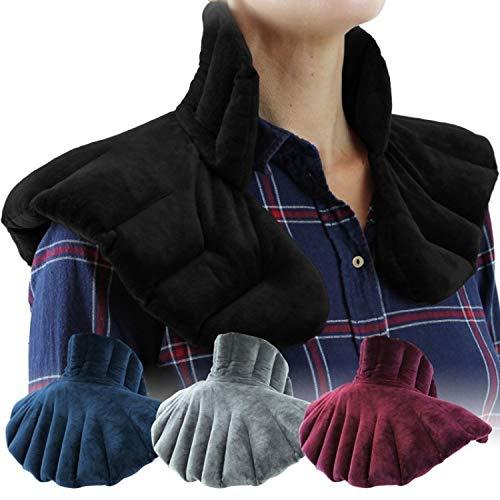 Vivezen ® Coussin chauffant, tour de cou pour épaule et nuque - 4 coloris - Norme CE