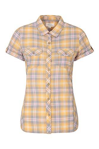 Mountain Warehouse Chemise Holiday pour Femmes - Coton, Haut à Manches Courtes pour Femmes,...
