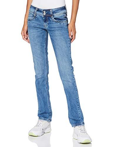 Pepe Jeans Gen Jean Droit Femme - Bleu (000Denim 000) - 24W / 30L