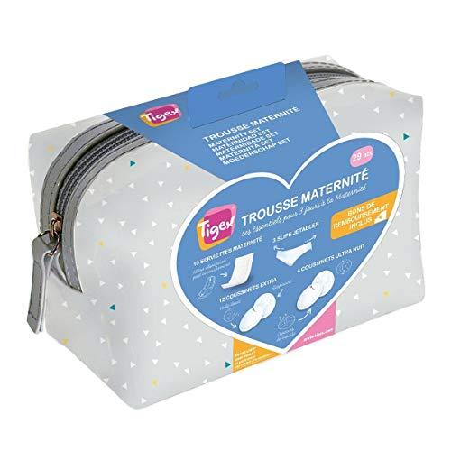 TIGEX Trousse de maternité Les Essentiels pour 3 Jours - 29 pièces prix et achat