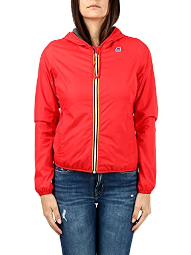 K-Way Jkt Lily Poly Pull, Femme, rouge, L