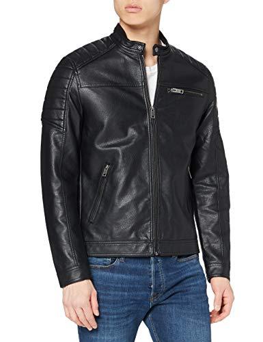 Jack & Jones Jcorocky Jacket Noos Blouson, Noir (Black Pattern: PU), Medium Homme prix et achat