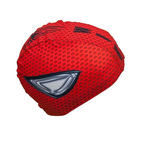 Bonnet de Natation Revo Cap Spiderman | Bonnet en Tissu| Bonnet de Bain pour Homme, Femme et...