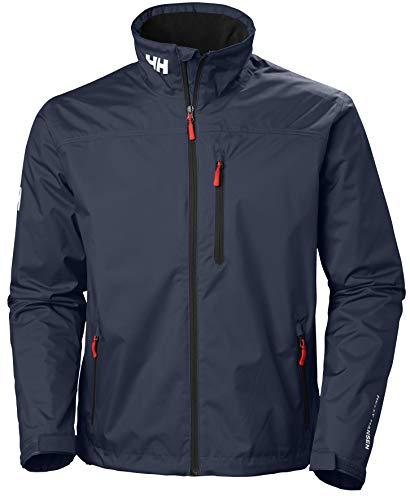 Helly Hansen HH Crew Midlayer Jacket – Veste imperméable et isolante pour homme , Bleu (Navy),L
