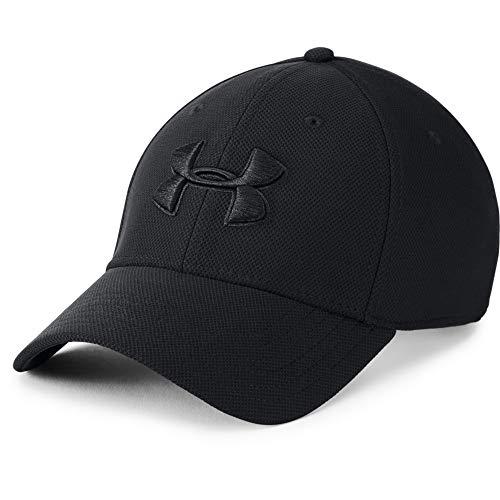 Under Armour Men's Blitzing 3.0 Cap, Casquette Homme, Black / Black / Black , L/XL