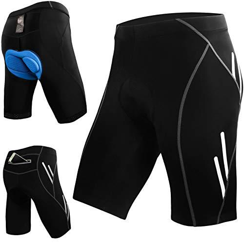 JOYSPACE Short de Cyclisme Short de Sports Homme Cuissard pour Cycliste avec 4D Rembourrage...