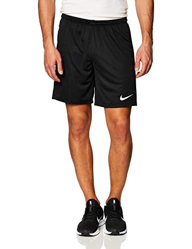 Nike Park Shorts Homme, Noir/Blanc, L