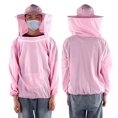 SHANG-JUN Fait à la Main Apiculteur Costume extérieur Apiculture Voile de Protection Veste...