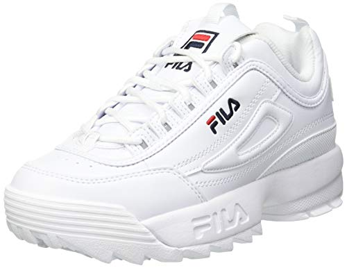 FILA Disruptor kids Sneaker Mixte enfant, blanc (White), 35 EU