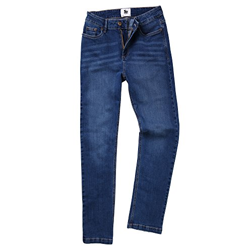 AWDis So Denim Katy - Jean coupe droite - Femme (FR 40 Régulier) (Bleu délavé)