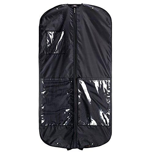 Hangerworld Housse Business Convertible en Sac pour Transport Costumes/Pantalons