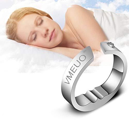 5 tailles bague anti-ronflement, Bouchon, Respiration de sommeil Traitement de massage par...