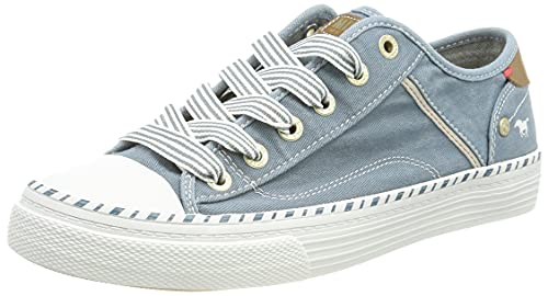 Mustang 1376-301-807, Sneaker Femme, Himmelblau, 41 EU