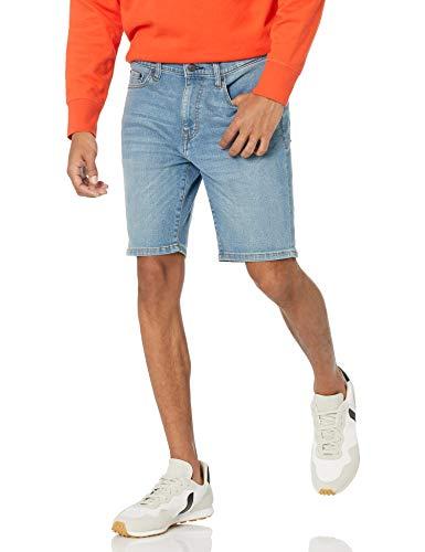 Amazon Essentials Slim-fit 9' Inseam Denim Short Jean, Délavé Clair, 38W prix et achat
