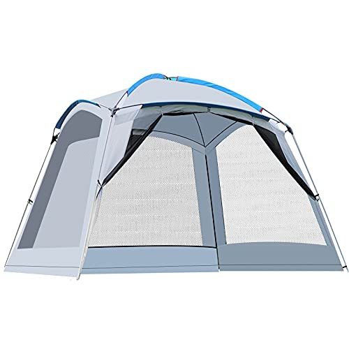 Tonnelle de Jardin 360x360cm Imperméable Tente Gazebo Pavillon...