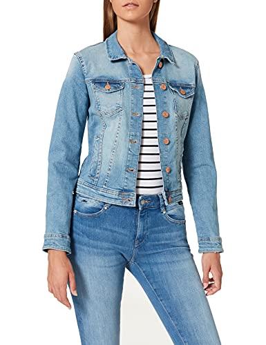 ONLY NOS Onltia DNM Jacket BB LB Bex179 Noos Veste en Jean, Bleu (Light Blue Denim Light Blue Denim), 44 (Taille Fabricant: 42.0) Femme
