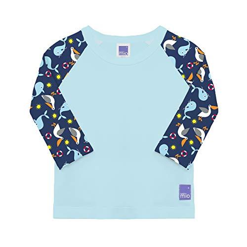 Bambino Mio T-Shirt Anti-UV Bébé,marin,L (1-2 ans)